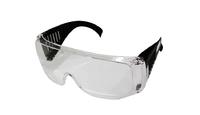 Очки защитные CHAMPION с дужками дымчатые, арт. C1007