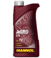 Масло для 2-х тактных двигателей синтетическое Mannol 7858 Agro Formula S 0.5л, арт. 51648